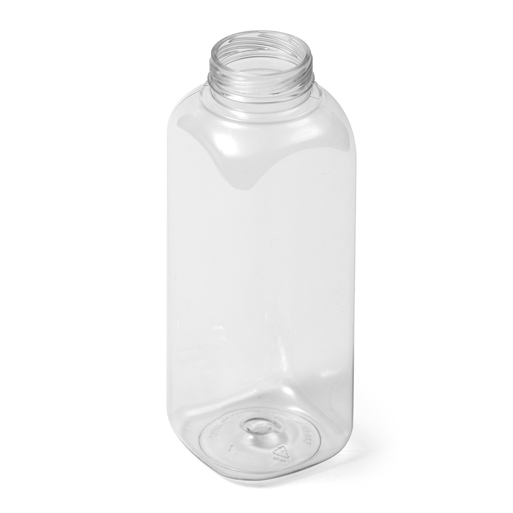 Square Shaped PET Bottles
