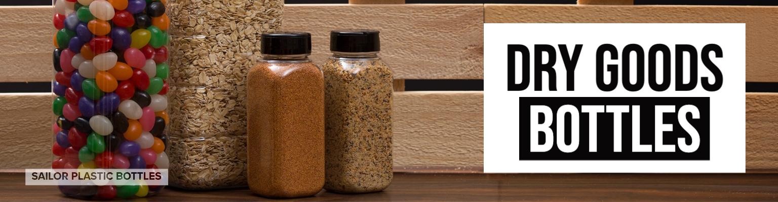Dry Goods Bottles & Jars for Sale