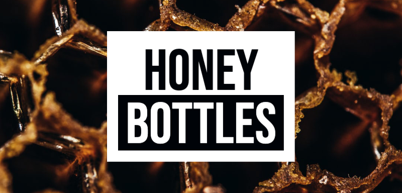 Honey Bottles for Sale
