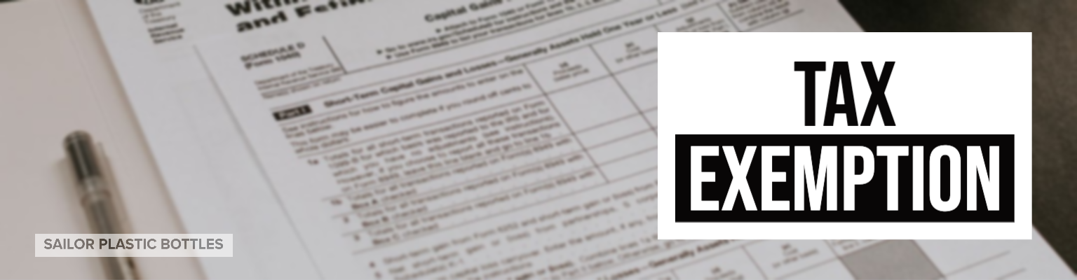 Tax Exemption Instructions and Form